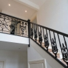Cast Iron Staircase Railing Fabrication and Installation in Woking, Surrey