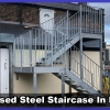 Galvanised Steel Outdoor Staircase Installation in Datchet, Berkshire