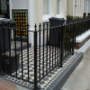 Steel Gate and Railings in Clapham, SW London