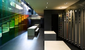 Steel Staircase - Kvadrat Showroom