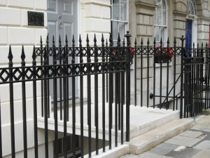 Cast Iron - Steel - Fitzroy Square