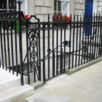Cast Iron & Steel - Railings - Fitzroy Square