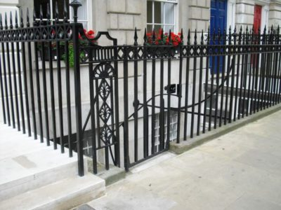 Cast Iron & Steel - Railings - Fitzroy Square