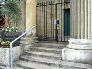 Wrought Iron Gates - Grade I Listed Building - St Marks Church W1