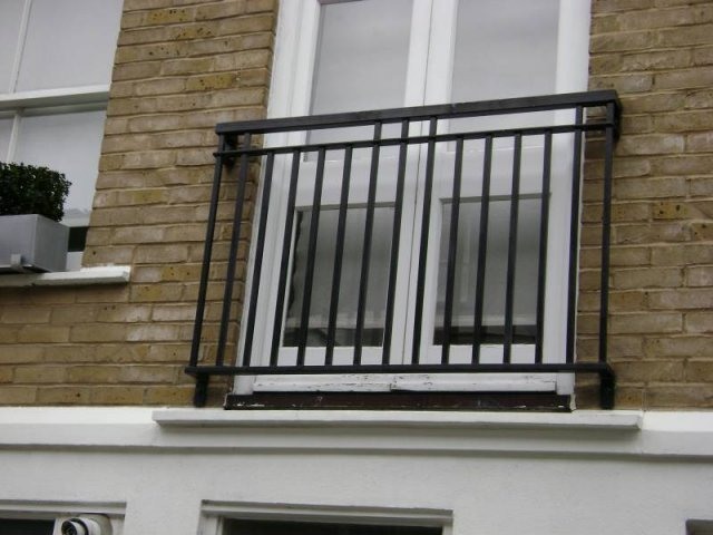 Mild Steel Balcony/Veranda London