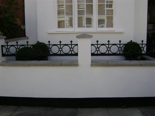 Cast Iron Balcony London
