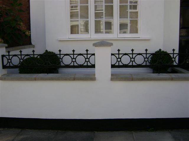 Cast Iron Balcony London