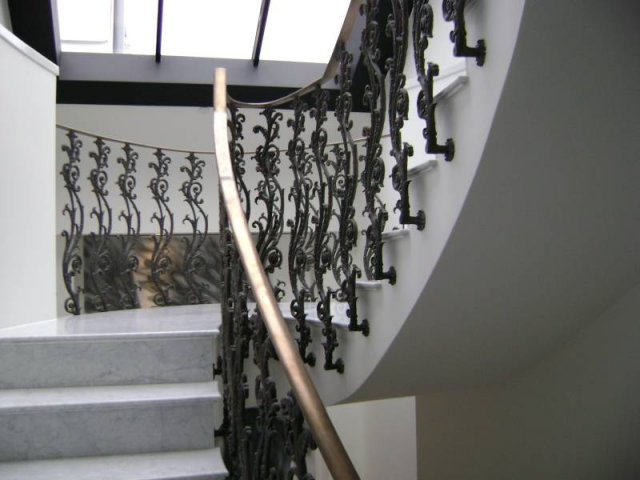 Nice Superior Cast Iron U0026 Wrought Iron Staircase Railings U0026 Handrails  Arc Fabrications