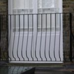 Wrought Iron Juliette Balcony in Highgate