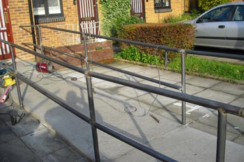 Steel Handrail Fabrication London