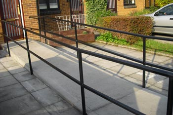 Disabled Handrail Fabrication London