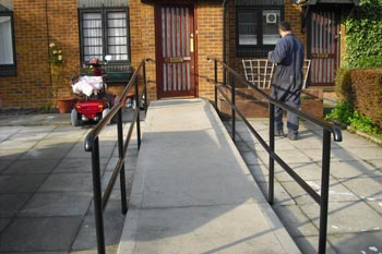 Disabled Handrail Fabrication