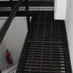Steel Open Grid Walkway in Kensington, London