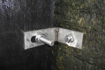 Right Angle Aluminium Brackets