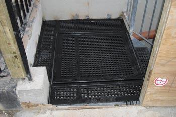 Steel Staircase Trapdoor