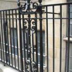 Cast Iron Railings in Lincoln's Inn, London