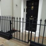 Cast Iron Railings and Gates London – Donne Place, Kensington