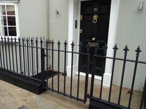 Cast Iron Gates Railings London Kensington