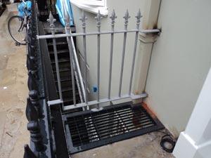Cast Iron Railings London - Donne Place