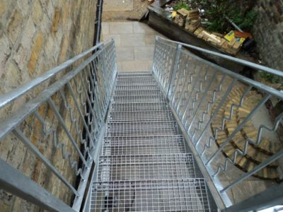 Outdoor Staircase Steel London