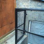 Steel Security Window Cage London - Access Door