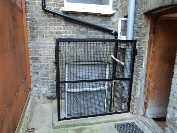 Security Window Steel Cage London