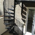 Steel Spiral Staircase & Balcony Landing Fabrication London – Maida Vale