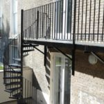 Steel Sprial Staircase London