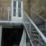 Outdoor Steel Staircase & Balcony London – Cecilia Road, Hackney