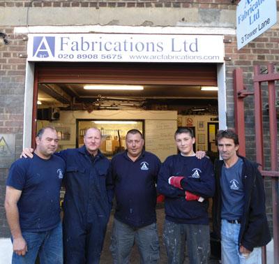 Arc Fabrications Team