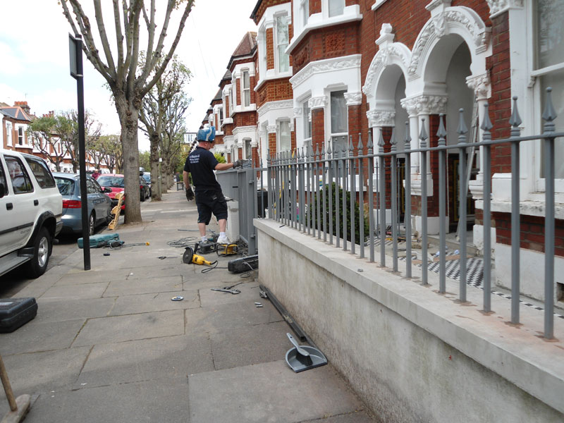 Cast Iron Railings Clapham