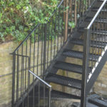 Exterior Steel Staircase London