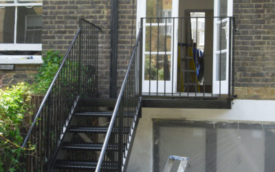 Steel Staircase London – Hammersmith