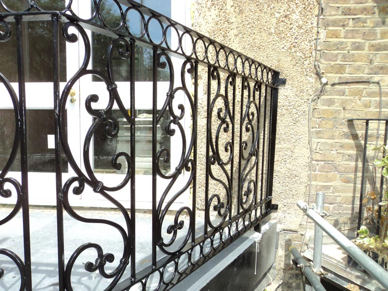 Steel Balcony Railings London