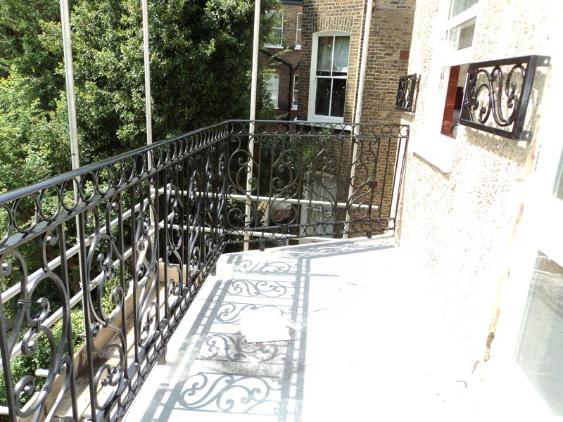 Steel Balustrade Railings London