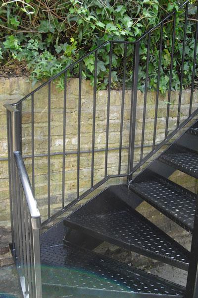 Steel Staircase London