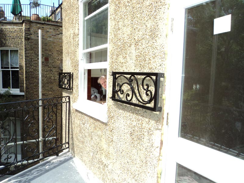 Steel Window Grilles London