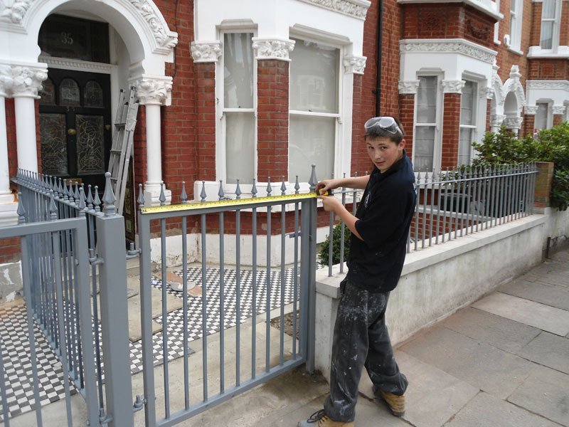 Wrought Iron Railings Fabrication London