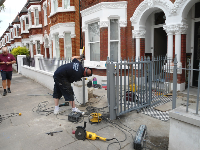 Wrought Iron Gate London