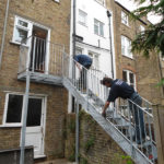 Outdoor Steel Staircase London