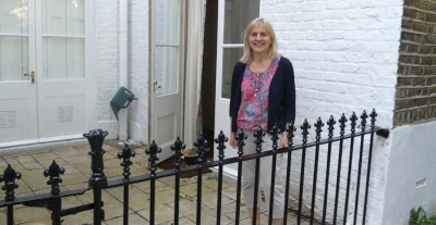 Cast Iron Railings London - Eleanor Beard