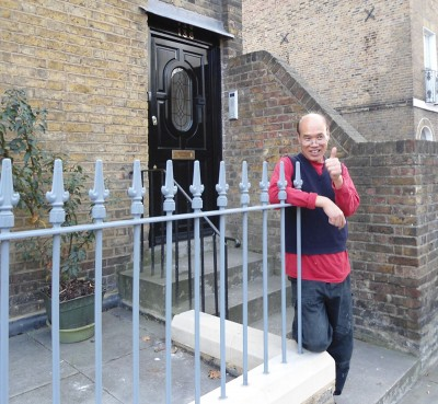 Wrought Iron Railings London - David Hu