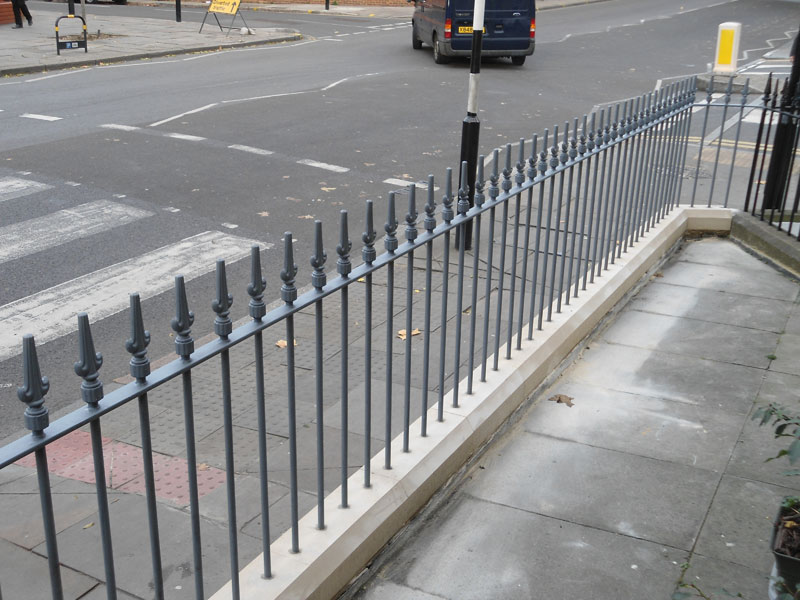 Exceptional Wrought Iron Railings London Islington