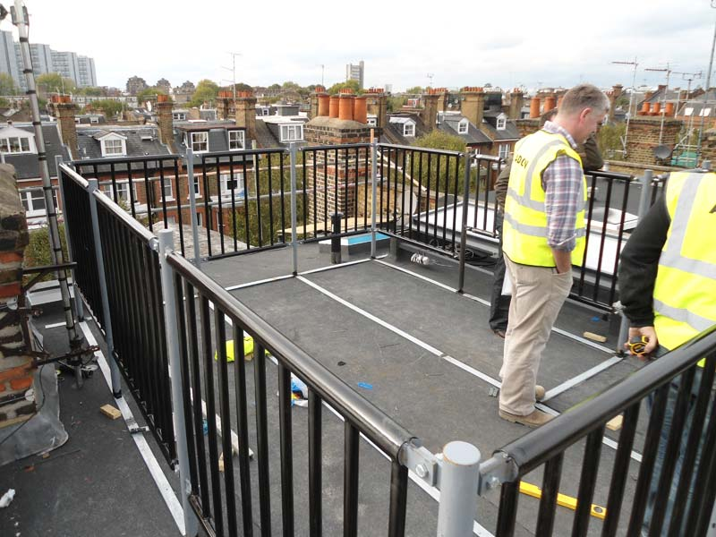 Roof Terrace Architectural Steel Maida Vale London