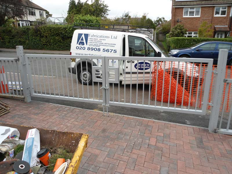 Steel Railings Shenley