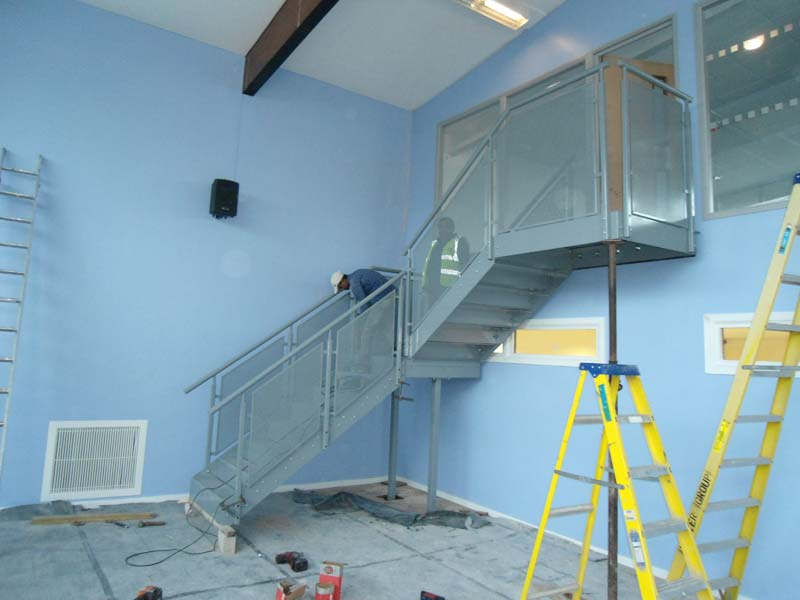 Steel Staircase Fabrication London