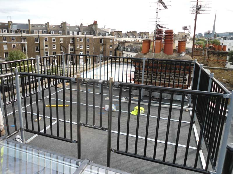 Steel Roof Terrace Railings & Architectural Steel in Maida Vale, London