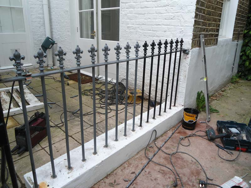 Wrought Iron Railings London