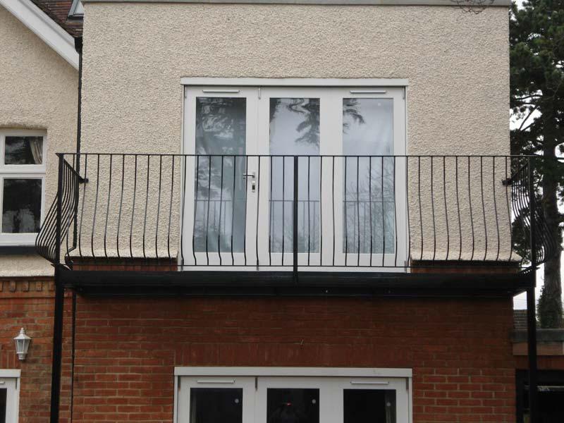 Roof Terrace Railings And Juliette Style Balcony