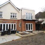 Roof Terrace Railings and Juliette Style Balcony Installation in Slough, Berks